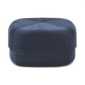Circus pouf - large - dark blue