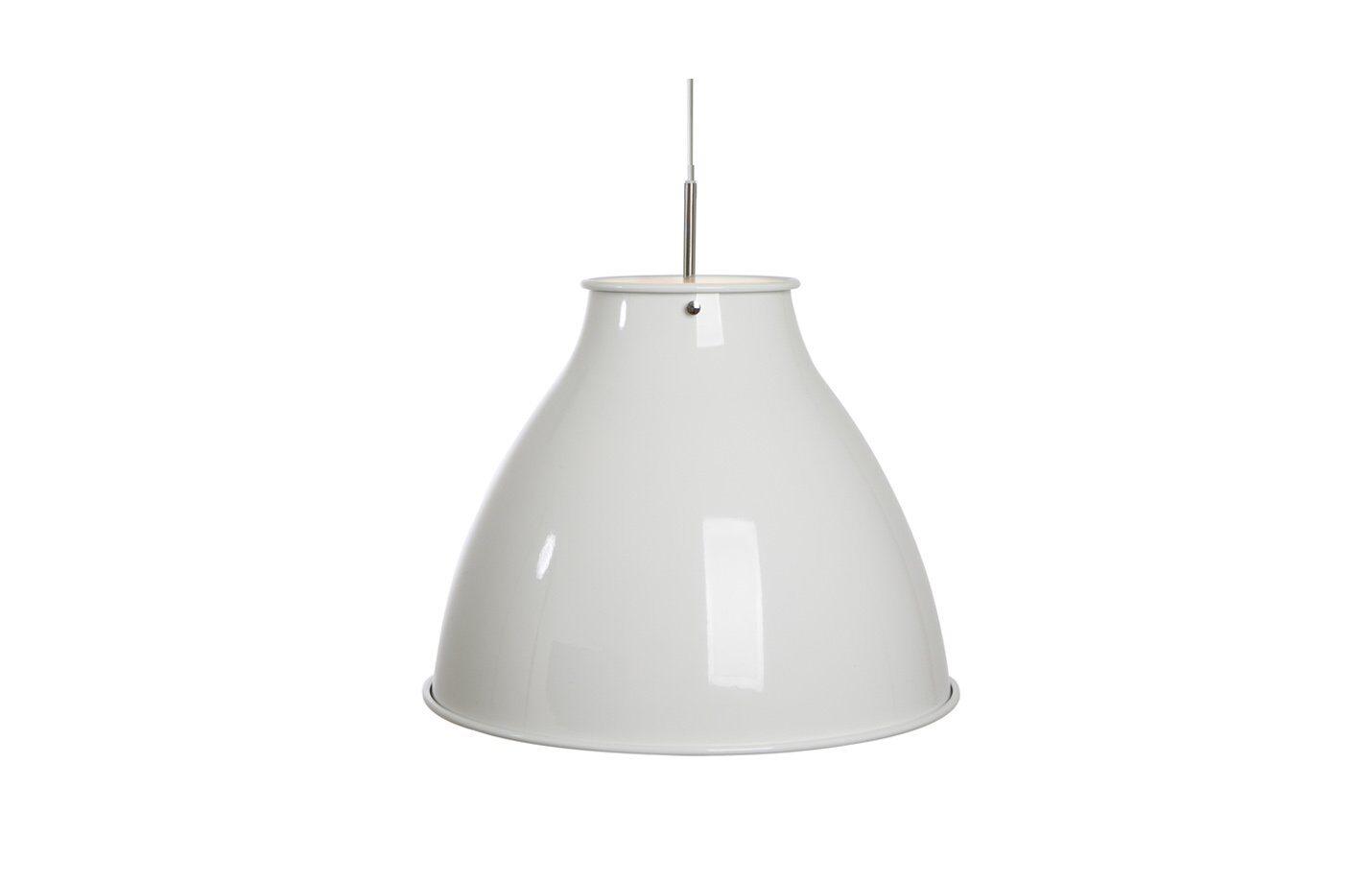 Dome-Pendant-Light-White