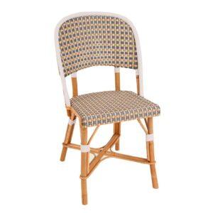 Chambord-D-grey-beige-white-Rattan-Side-Chair-1