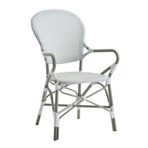 Isabell-Alu-Rattan-Arm-Chair-Grey